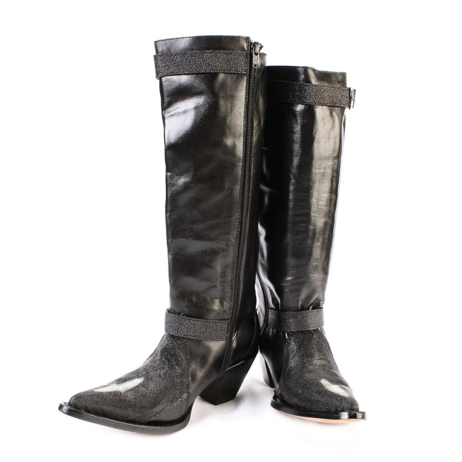 Stingray Zip Up Boots